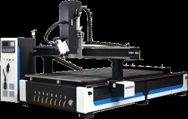 equipamento CNC a 4 Eixos Dholetec