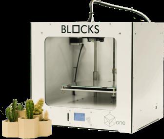 Impressora 3D Blocks Dholetec
